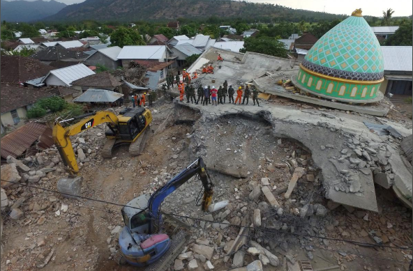 Death toll from Indonesia quake climbs over 320