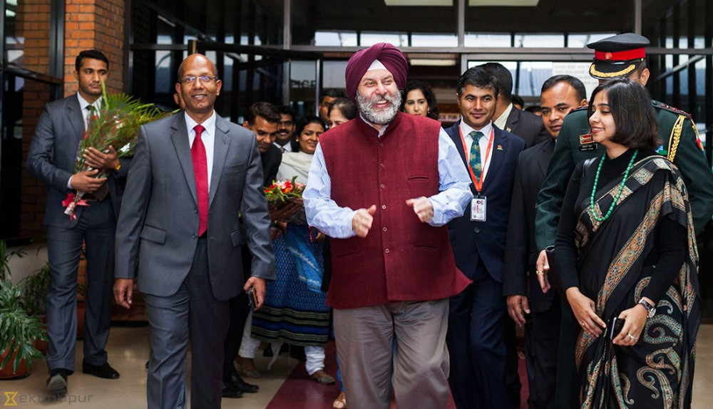 New Indian ambassador arrives in Nepal