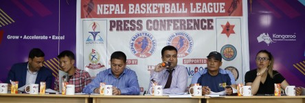 Nepal Basketball League from April 20