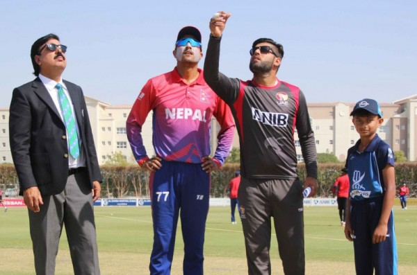 Twenty-20 series: Dipendra Singh Airee shines as Nepal beat UAE by four wickets