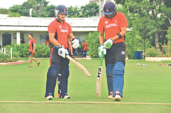 Nepal sign off with defeat