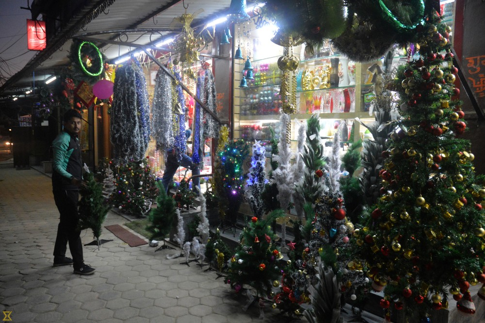 Demand For Christmas Trees And Gifts Surge Money The Kathmandu Post